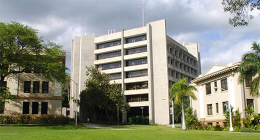Saunders Hall, UH Mānoa