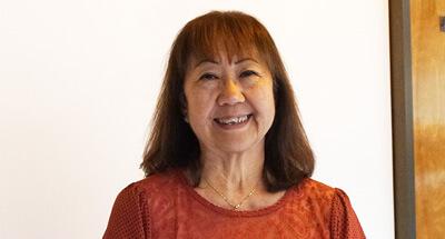 Elaine Nakahashi, Secretary, Department of Anthropology, University of Hawaiʻi at Mānoa